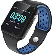IOQSOF Smart Watch for Men Women with Sleep Monitor Sedentary Reminder Pedometer Bluetooth Smart Watches Compatible with Android i-OS Samsung