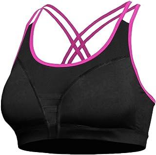 0d884b84b2 Soutien Gorge Sport Femme Rembourré Sport Gym Fitness Sport Yoga Stretch