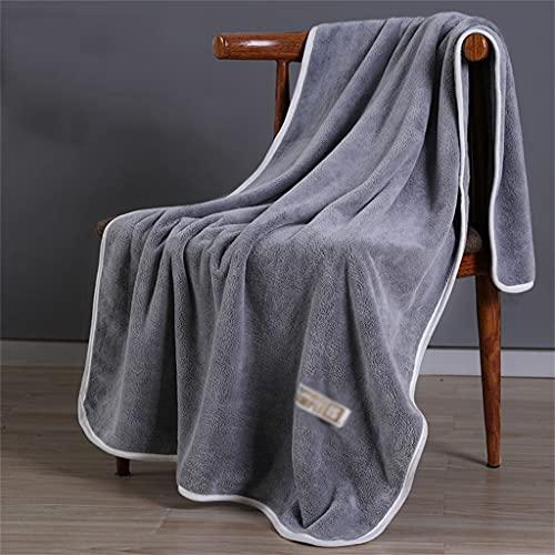 STRAW Toalla de baño para el hogar, para Hombres y Mujeres, Absorbente, de Secado rápido, esponjosa, Suave, Pareja, Toalla de baño Grande (Color : B, Size : 80 * 150cm)