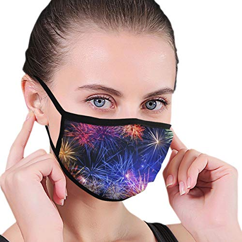 WoodWorths Blue and Red Colored Wallpaper(22) Men Women's Face Mouth Dust Cycling Respirator Reuseable
