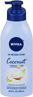 Nivea Lotion Coconut & Monoi Oil Infused 16.9 Ounce (500ml)
