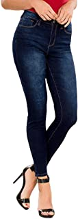 Juniors' Hide Your Muffin Top High-Waist Skinny Jeans
