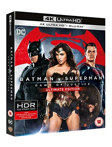 Batman v Superman: Dawn of Justice [Ultimate Edition] [4K Ultra HD] [2016] [Blu-ray] [Region Free]
