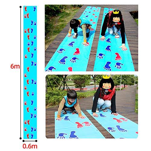 YOUNICER almohadilla de juego de manos y pies grupo de entrenamiento al aire libre desarrollo de juegos divertidos juegos divertidos juegos de patio trasero o juegos de fiesta de cumpleaños para niños