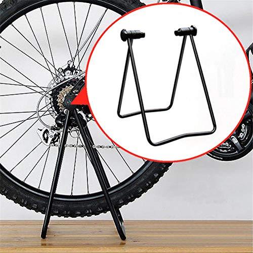 Dettelin Soporte de Bicicleta Soporte de Altura Ajustable Soporte de reparación Plegable Soporte de Bicicleta para Almacenamiento de Bicicletas Soporte de estacionamiento para Bicicletas