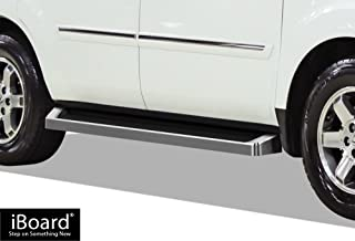 APS iBoard Running Boards Style Custom Fit 2009-2015 Honda Pilot Sport Utility 4-Door & 2009-2013 Acura MDX (Nerf Bars Side Steps Side Bars)