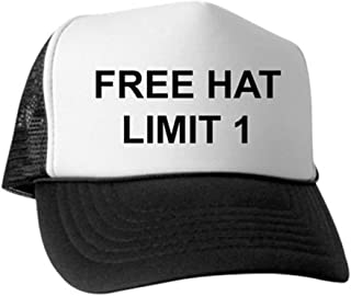 Trucker Hat - Trucker Hat, Classic Baseball Hat, Unique Trucker Cap Black/White