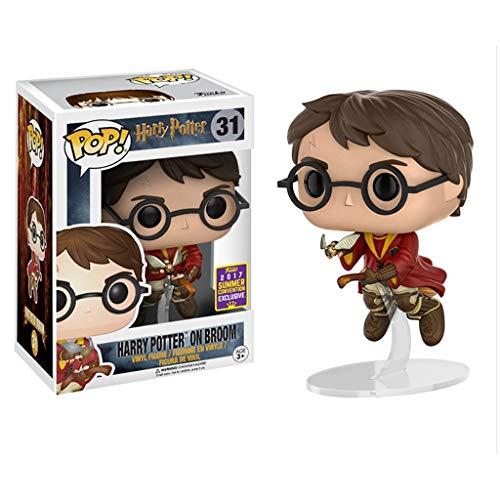 LRWTY Harry Potter Pop Figura Forma Harry Potter y Aficionados Piedra Filosofal Película Colección de Quidditch Copa del Mundo Gifts