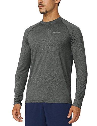 Baleaf Men's Cool Running Workout Long-Sleeved T-Shirt