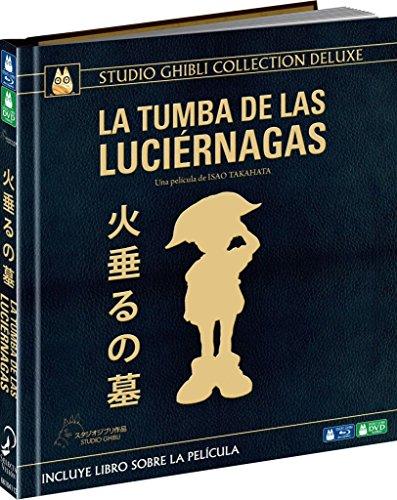 La Tumba De Las Luciérnagas Edición Digibook Deluxe - Blu-Ray [Blu-ray]