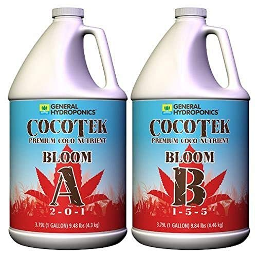 General Hydroponics Cocotte Coco Bloom A and B for Gardening, 1-Gallon