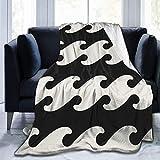 Mxung 3D Einfache Moderne Decke für Kinder Baby Soft Fleece Decke für Erwachsene Männer, Twin (60x80)