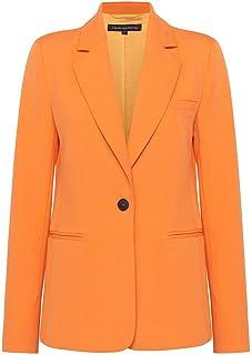 French Connection - Adisa Sundae Suiting Tailored Jacket, Tangerine