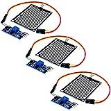 AZDelivery 3 x Moduli Sensore Pioggia Acqua Piovana per Arduino con eBook