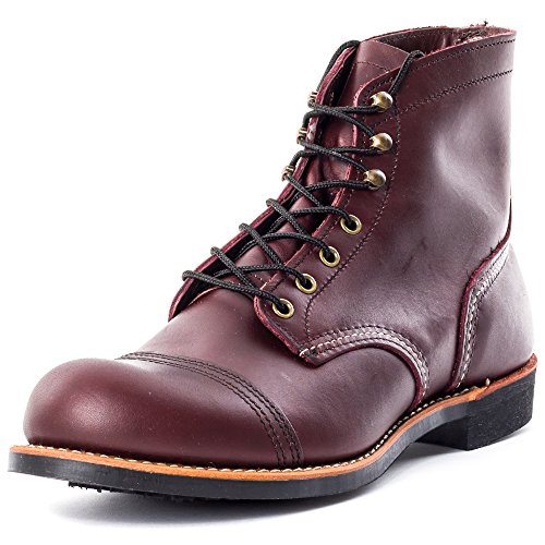 Red Wing Heritage Iron Ranger 6-Inch Boot, Oxblood Mesa, 13 D(M) US