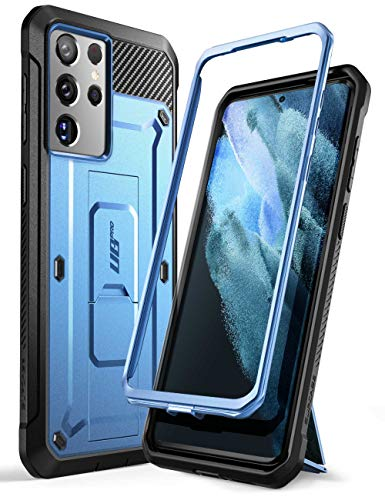 SUPCASE Unicorn Beetle Pro Series Case Designed for Samsung Galaxy S21 Ultra 5G (2021 Release), Full-Body Dual Layer Rugged Holster & Kickstand Case Without Built-in Screen Protector (Tilt)