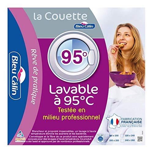 Alpes Blanc Couette Lavable à 95° 200x200