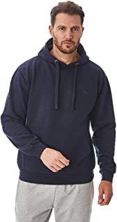 Iron Mountain Mens Reclaimed Yarn Eco Friendly Anti Pil Flexible Comfortable Soft Fleece Zip-Up Hooded Top Hoody, Navy Blu...