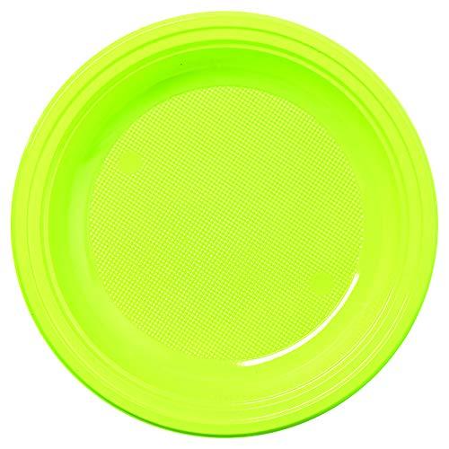 mallard ferrière Assiette Ronde PS de 22 Vert ANIS P/30