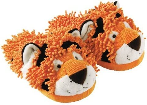 Cheap mail order shopping Aroma Home Fuzzy Tiger Friends Slippers Baltimore Mall