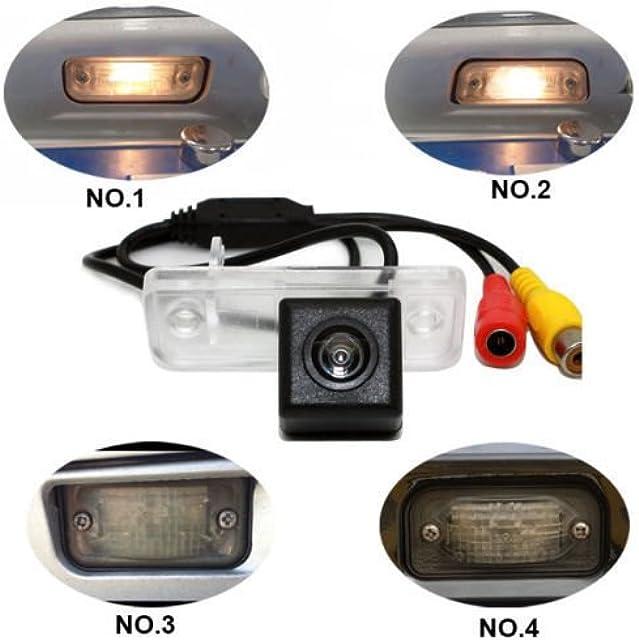 Dynavsal Universal Revertir Asistencia de Copia de Seguridad de la Cámara de Aparcamiento para C W203 CLK W209 SL R230 W211 R171 C219 S203 S211