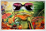 Blechschilder Lustiger Cocktail Caipirinha, Mojito Spruch: