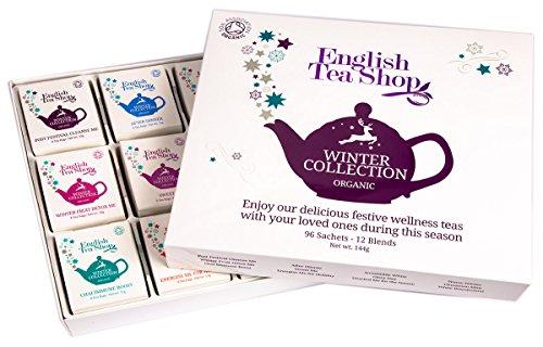 """English Tea Shop - Teegeschenk """"Winter Collection"""", BIO, 96 Teebeutel (12x8) in Kartonbox"""