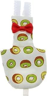 Computer accessories - Parrot Bird Diaper Soft Washable Reusable Pee Pad Cover Wrap Cloth Diaper Nappy for Birds Parakeet Cockatiels Pigeons