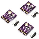 KeeYees 3PCS BME280 Compatible con BMP280 5V Sensor de Alta Digital Temperatura Humedad Presión Barométrica Tablero del Módulo Breakout para Arduino para Raspberry Pi