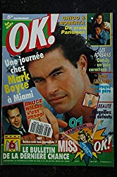 OK ! âge tendre 788 18 au 24 fév. 1990 ELSA mini poster - Mark BOYCE Bruce Willis Les FORBANS Stallone