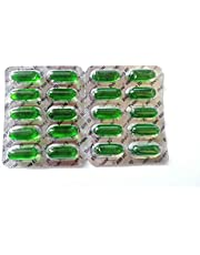 NK GLOBAL Evion Vitamine E 400 mg capsules voor gezicht, haargroei, nagels, stralende huid Set van 50 stuks natuurlijke, veganistische gezichtsvitaminen