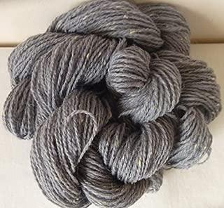 Gray With Cream Slubs Worsted DK Knitting Yarn