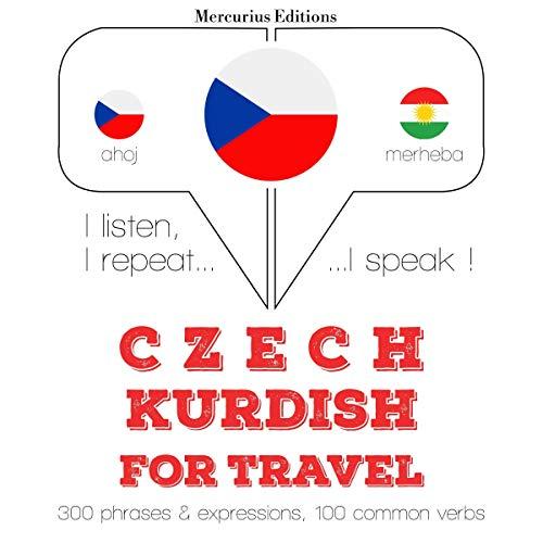 Czech - Kurdish. For travel cover art