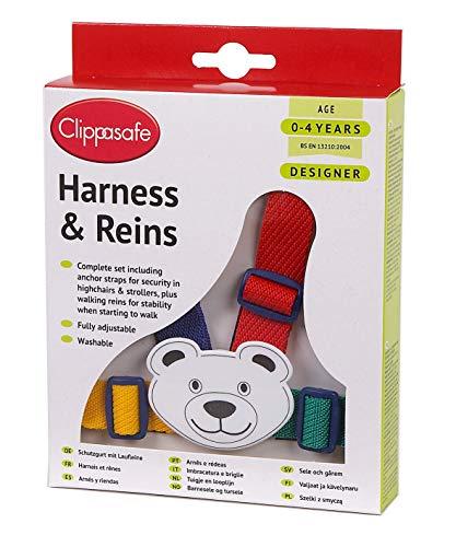 Clippasafe Redinelle con Cinghia da Polso - Multicolore Teddy