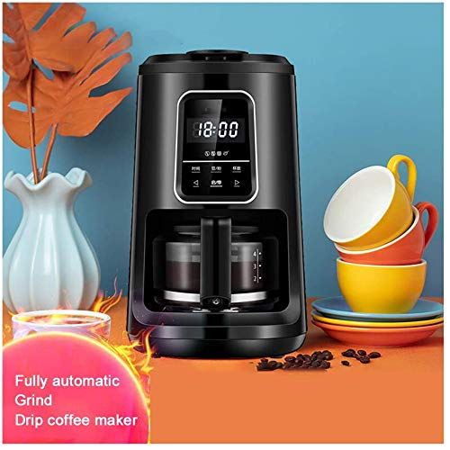 Domestic koffiemachines, Koffiezetapparaat Koffiemachines Home Office Touch Screen Inductie Automatische Grinder Drip Koffiezetapparaat Bonen Coffee Machine WKY