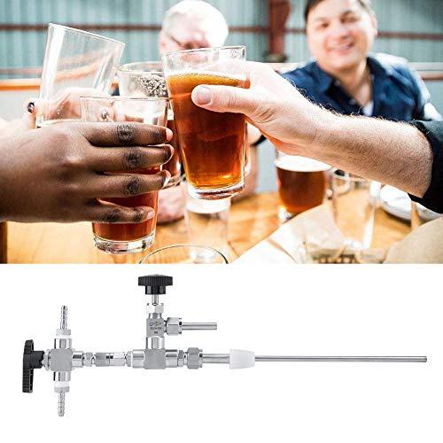 Bierflaschenfüller, 304 Edelstahl-Gegendruck-Bierflaschenfüller Home Brew CO2-Bierbrau-Kit