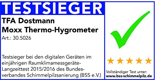 Dostmann digitales Thermo-Hygrometer - 6