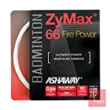 Ashaway Cordage de badminton Zymax 66Fire Power 0,66mm –Blanc