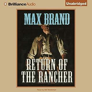 Return of the Rancher audiobook cover art