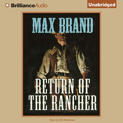 Return of the Rancher audiobook cover art