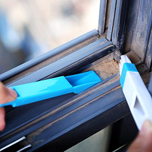 Zxcvbnm Computer window cleaning brush window groove toetsenbord cleaner nook cranny stofschop Window Track cleaner