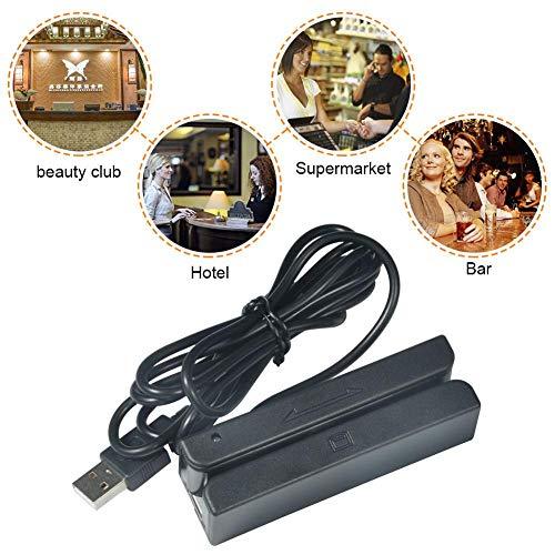 Broco Lector Tarjetas Banda magnética USB MSR90