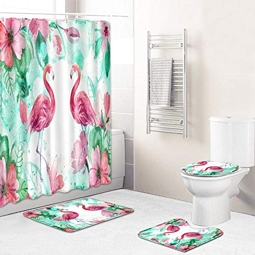 Ginsenget Shower Curtain 100% Polyester Decorative,Bathroom Curtains Waterproof Mold-proof Anti-Bacterial With 12pcs Hooks Privacy Protection For Home and Hotel,Tree hole