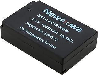 Newmowa LP-E12 バッテリー 1個 対応機種 Canon LP-E12 Canon EOS M M2 M10 M100 EOS 100D EOS Rebel SL1 EOS KISS X7 EOS M50