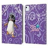 Head Case Designs Licenciado Oficialmente Animal Club International Penguin Pet Royalties Carcasa de Cuero Tipo Libro Compatible con Apple iPad Air (2020)