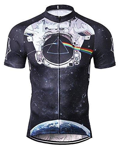 STRGAO New Sommer Herren Männer Kurze Hülse Zyklus Jersey Kurzarm Fahrradtrikot Fahrrad Hemd Fahrrad Radfahren Trikot Cycling Jersey Bike Shirt 4XL