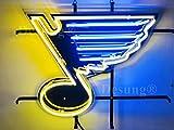 Desung 20'x16' St. Louis Sports Team Blue Hockey Neon Sign Light (MultipleSizes) HD Vivid Printing Tech Handmade Man Cave Beer Bar Pub Lamp VD36
