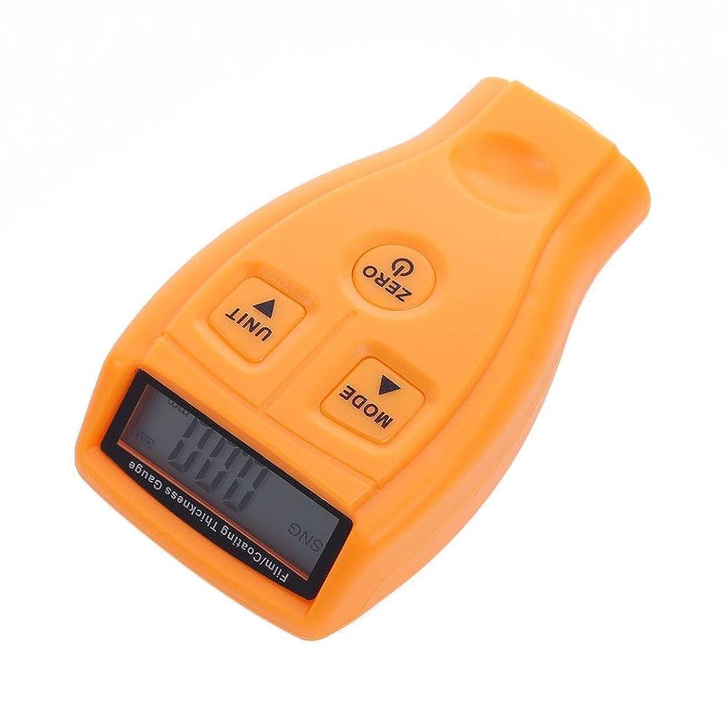 使用法永遠に葉っぱvolflashy 膜厚計 厚さ計 LCD デジタル ミニコーティング 厚さ ゲージ 自動車 メーター ツール GM200