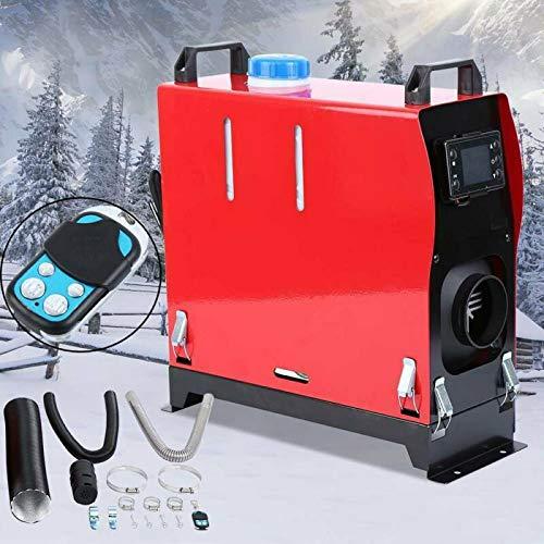 Ambienceo 5KW Diesel Luftheizung 12V All in One Kit DieselParkheizung mit Fernbedienung und LCD Anzeige für LKW Busboot Autoanhänger Wohnmobilfahrzeug