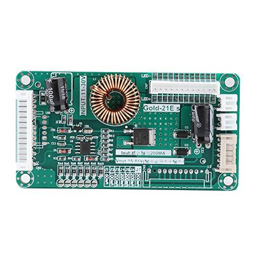 Placa de controlador de retroiluminación con correa de luz LED para TV LCD, 11-30 V/15-88 V, se adapta automáticamente para aumentar Adecuado para televisores LCD de 10-48 pulgadas para todas las marc